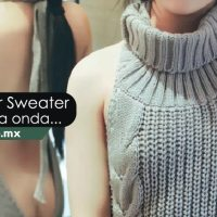 El Virgin Killer Sweater, una sexy moda de Japón.