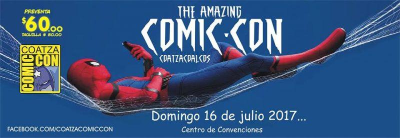 Coatza ComicCon este próximo domingo 16 en Coatzacoalcos.