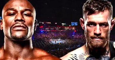 Maywheather vs McGregor