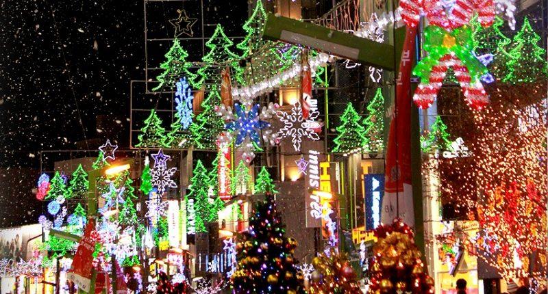 Navidad en Corea
