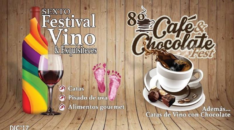 VINO Y CHOCOLATE DEL 15 AL 17 DE DICIEMBRE EN IZTACALCO