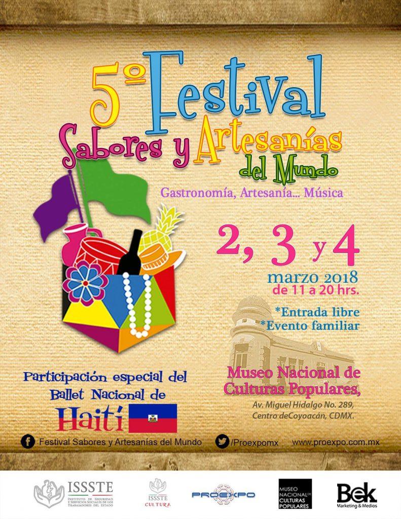 Festival Sabores y Artesanías del Mundo