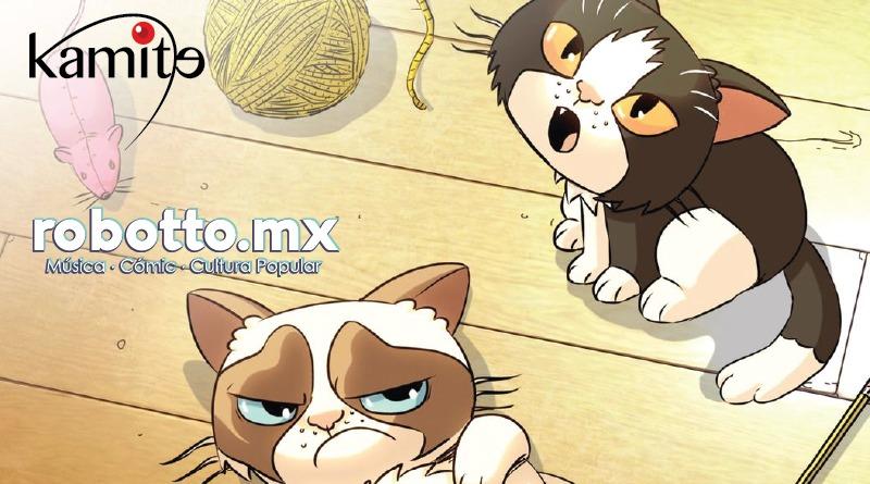 Grumpy Cat y Pokey