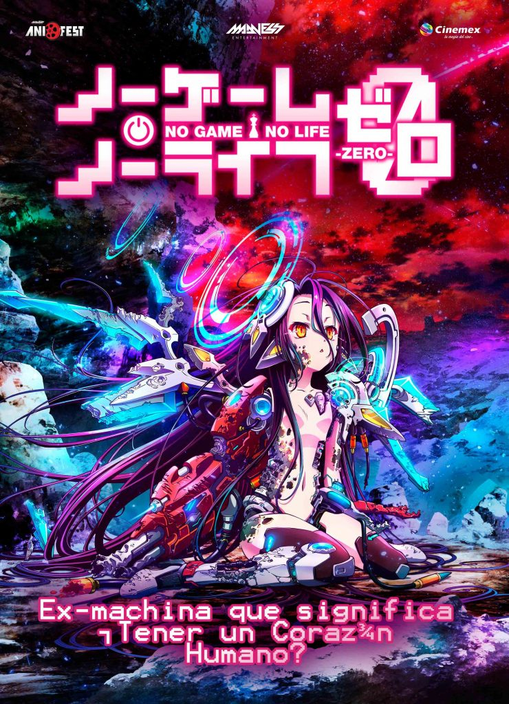 No Game No Live- Zero 17 y 18 de Marzo, Ultimo Fin de Semana.