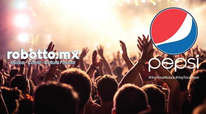 PEPSI anuncia alianza con los principales festivales.