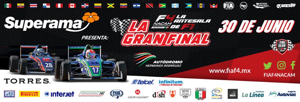 Llega la Gran Final de la F4 NACAM Championship a CDMX