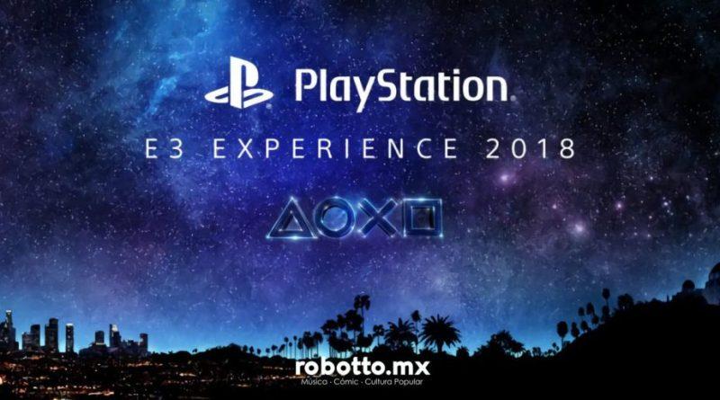 Sony Playstation E3 2018