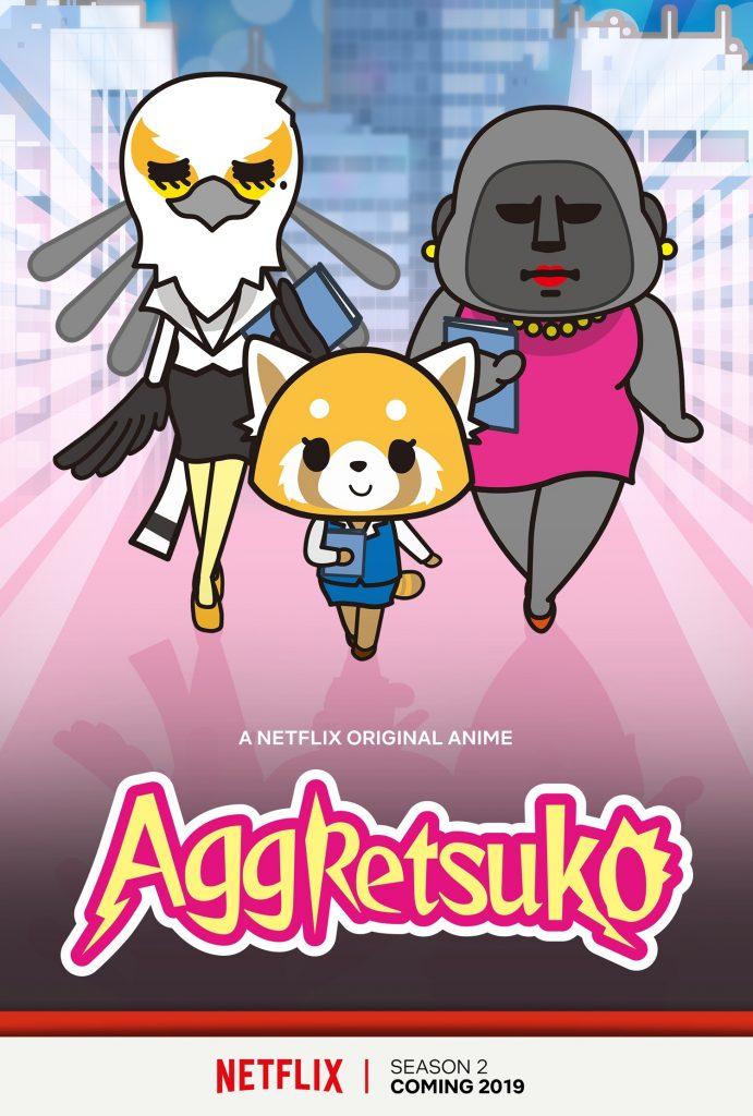 Aggretsuko Anime Expo 2018 Netflix