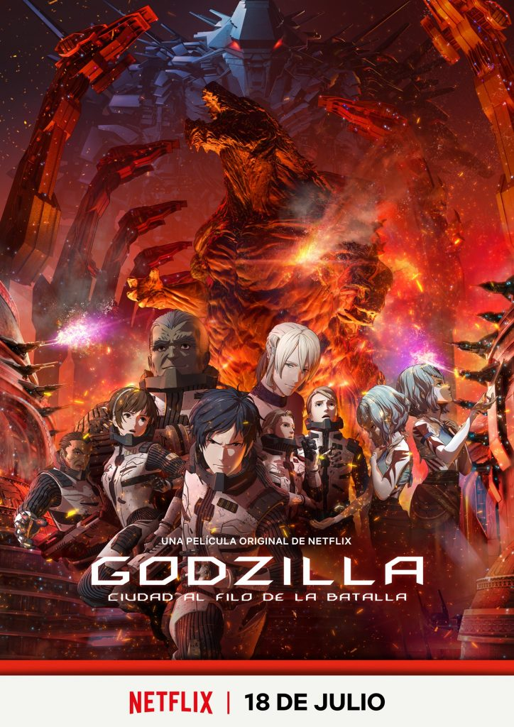 Godzilla Anime Expo 2018 Netflix