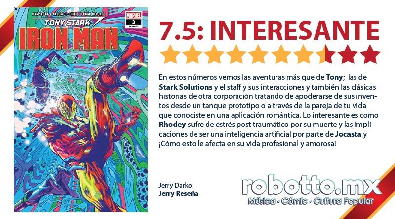 Jerry Reseña   Tony Stark Iron Man (2018)