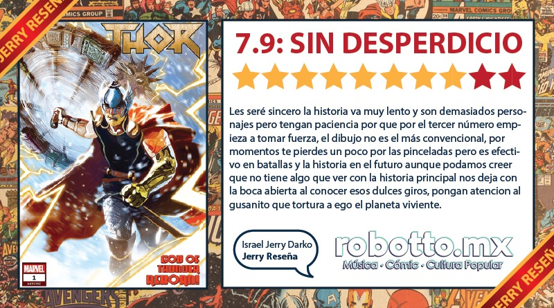 Jerry Reseña Thor (2018)