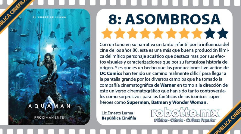 Reseña Aquaman