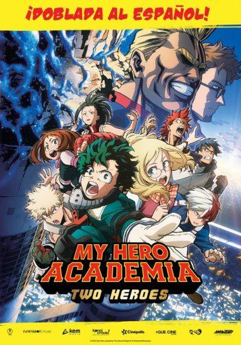 My Hero Academia Dos Heroes Poster