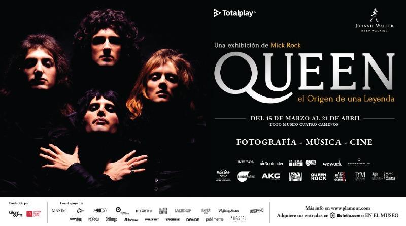 QUEEN: Exposición Fotográfica de Mick Rock en México.