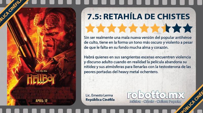 Reseña: Hellboy (2019)