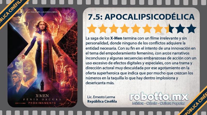 Reseña: X-Men Dark Phoenix