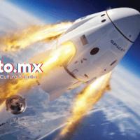 El lanzamiento de la nave tripulada Crew Dragon