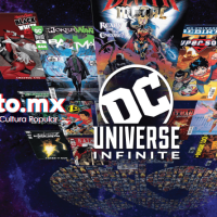 DC UNIVERSE INFINITE, servicio de suscripción de cómics.