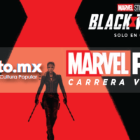 Marvel Run Carrera Virtual: Edición Black Widow