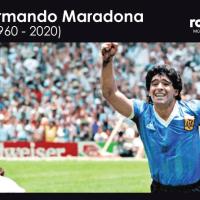 Diego Maradona muere a los 60 años, afirma Clarín.