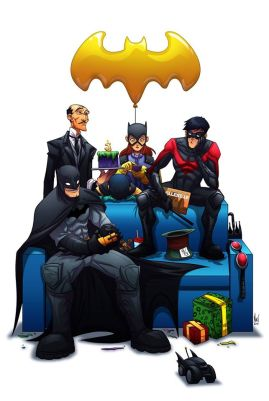 Batman fan art by Marvin Del Mundo