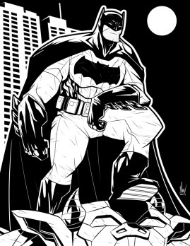 Batman by Marvin del Mundo