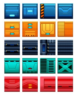 Stress Test Games - Tile Assets by Marvin del Mundo