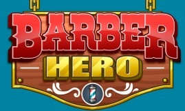 Barber Hero logo - by Shelly Soneja