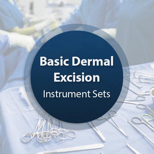Basic Dermal Excision Instrument Set