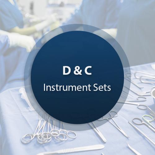 D&C Surgical Instrument Set