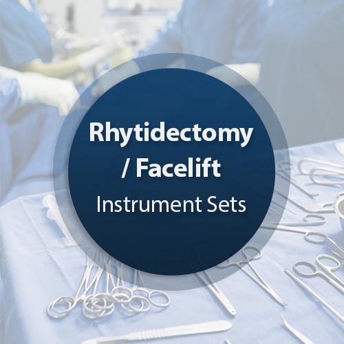 Rhytidectomy-facelift Instrument Set