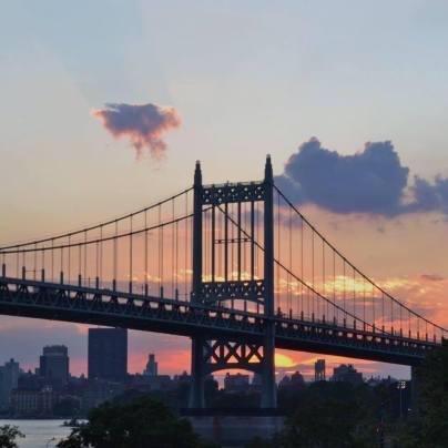 RFK Triboro Bridge At Sunset