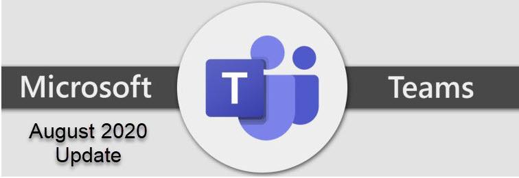 Teams Aug 2020 Update logo