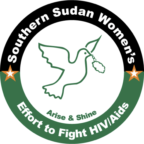 Southern Sudan Women's effort to fight HIV/Aids logo by rob rooker