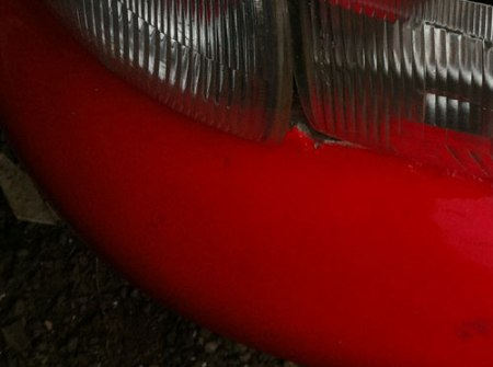 rally car bumper & light by rob rooker gigglingbob