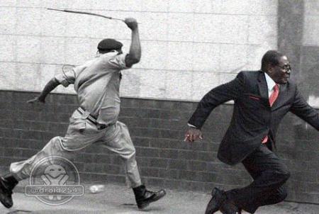 police2Mugabe #MugabeFalls