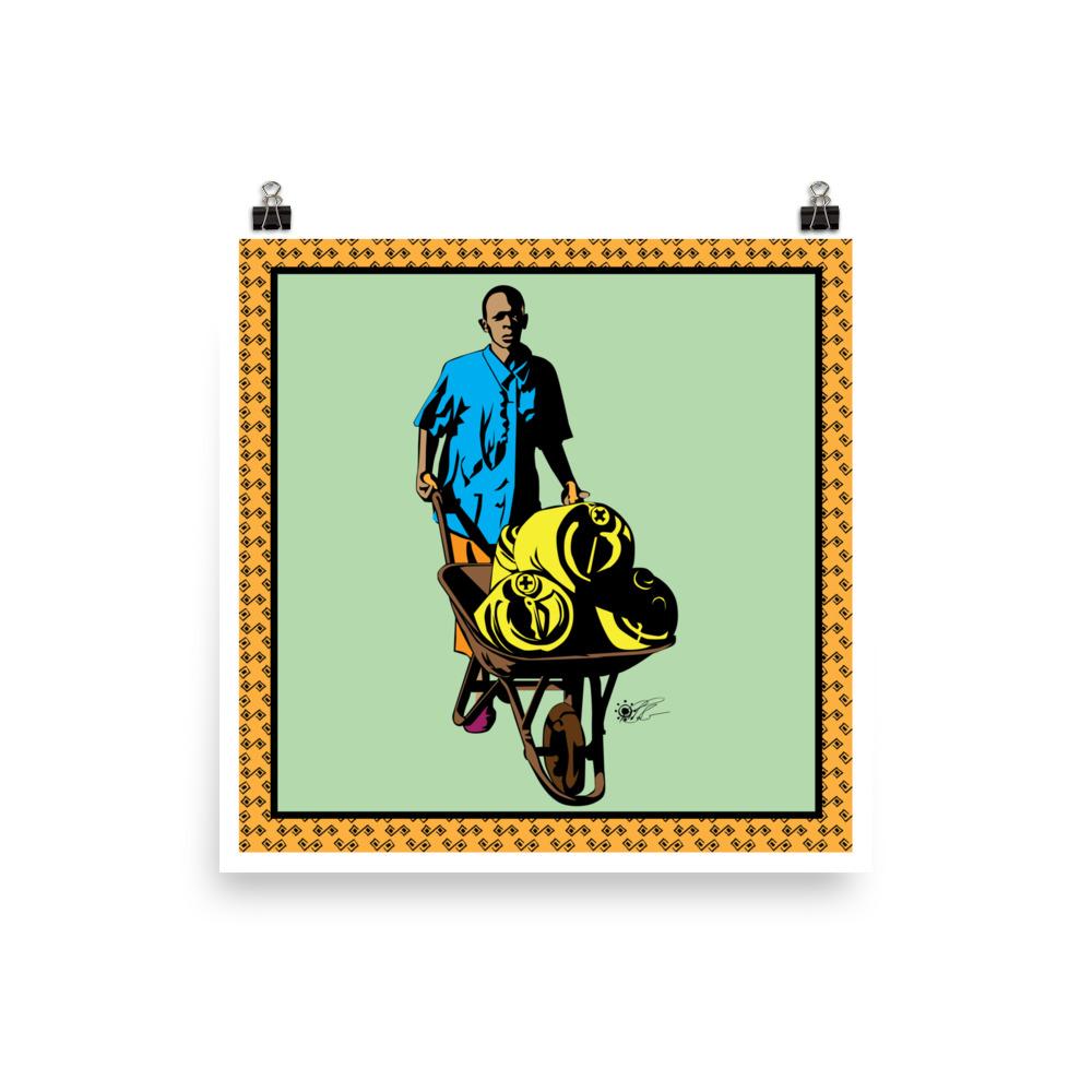 Water Boy Poster