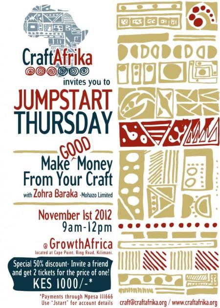 Jumpstart Thursday CraftAfrika