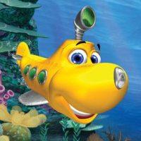 Olly in acquario