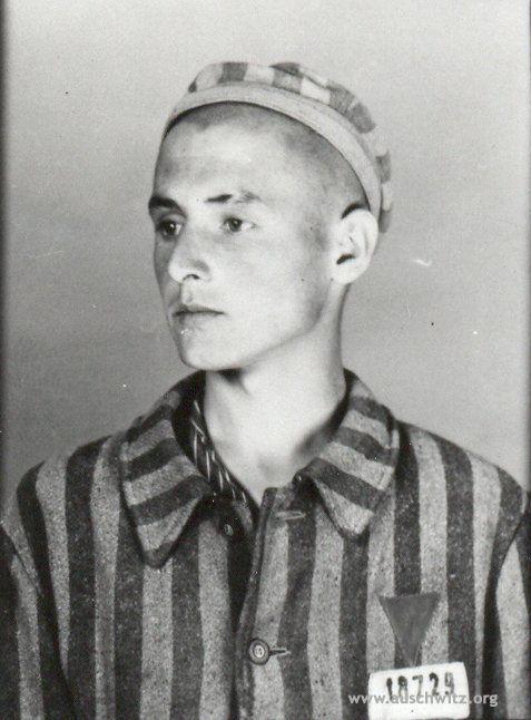 Józef Szajna, prisoner number 18 729