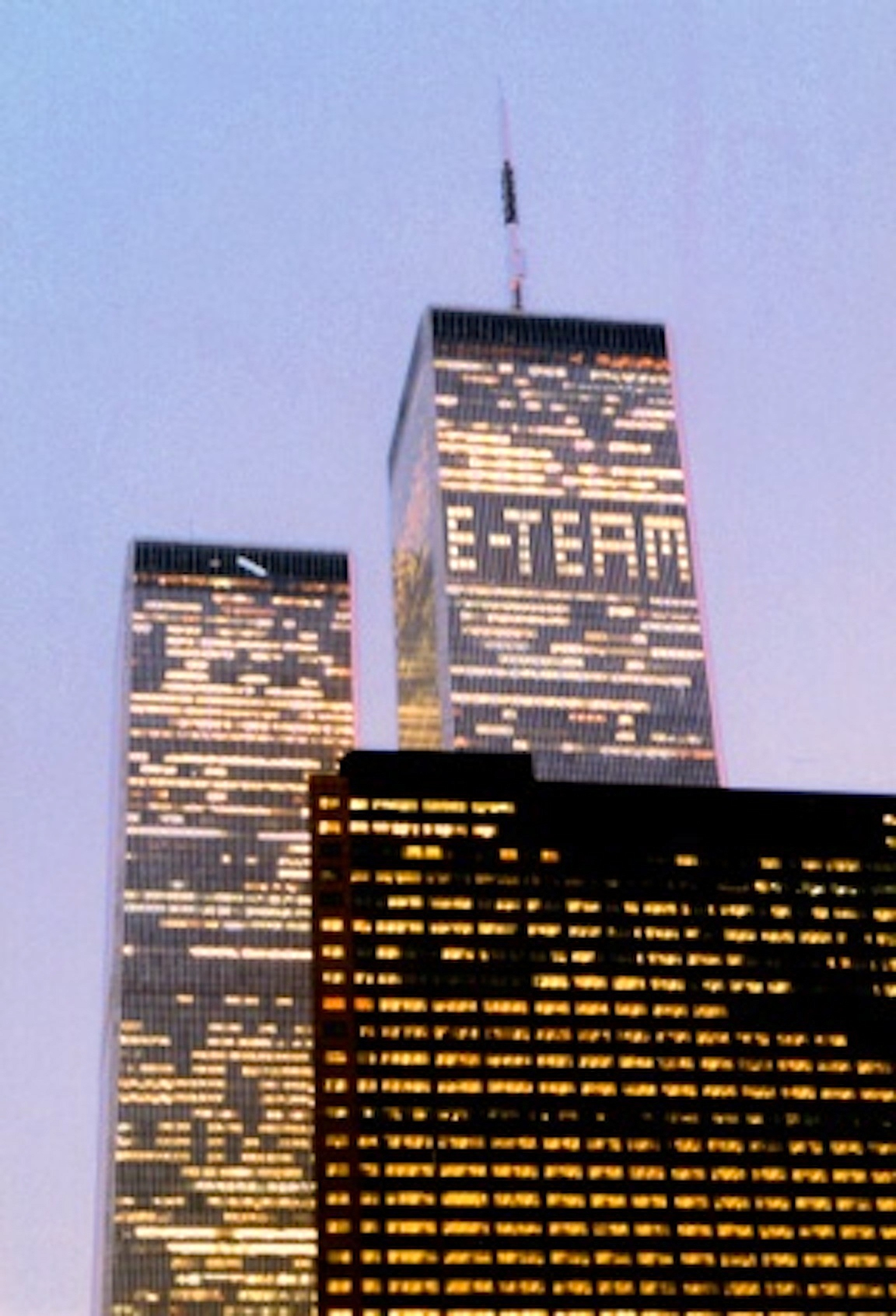 E-Team (Hajoe Moderegger, Franziska Lamprecht, Dan Seiple) 127 Illuminated Windows March 2001