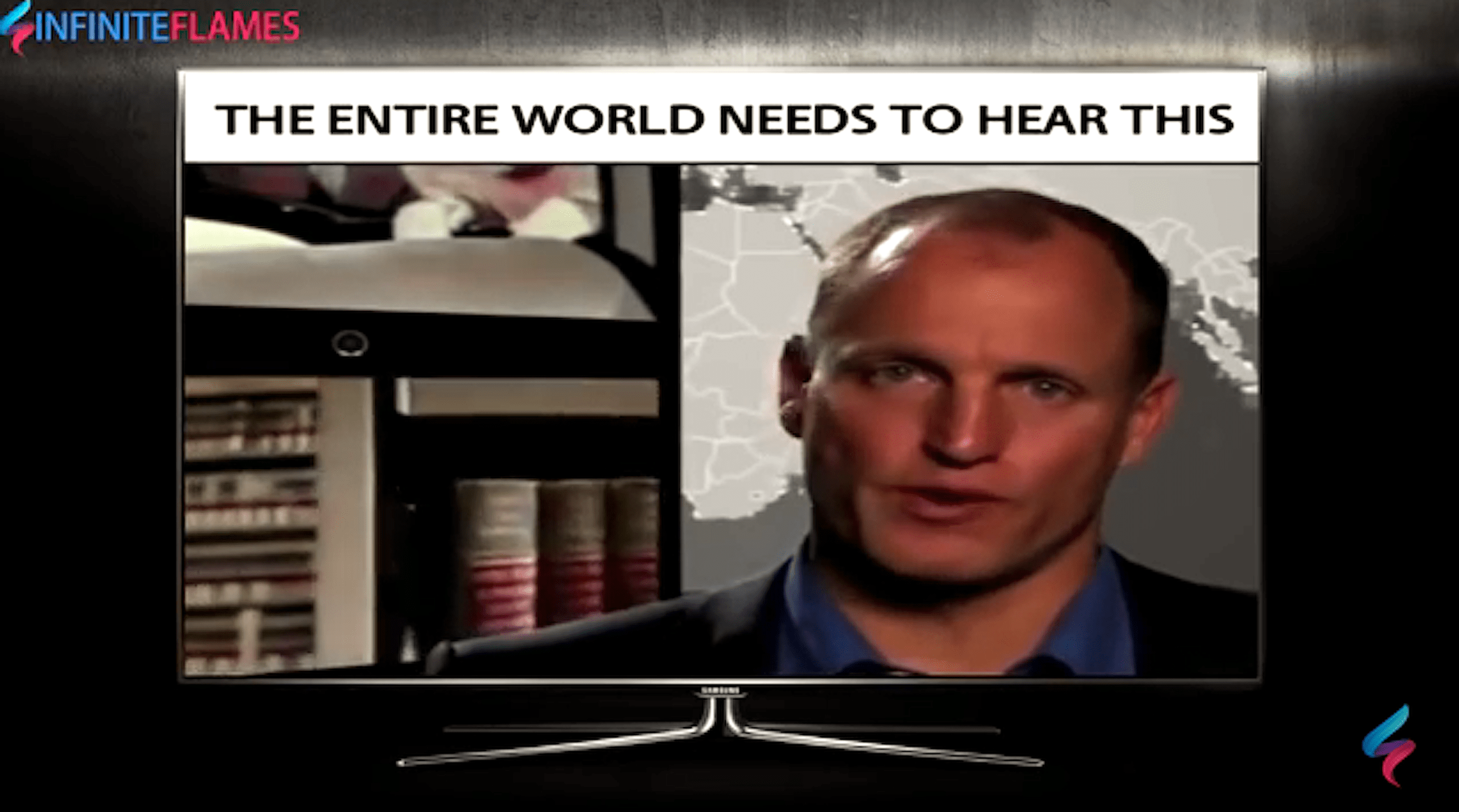 The Entire World Needs To Hear This, Important Message For The World From Woody Harrelson