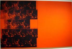 Andy Warhol - Orange Car Crash, Fourteen Times