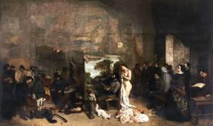 Gustave Courbet - L'atelier du peintre