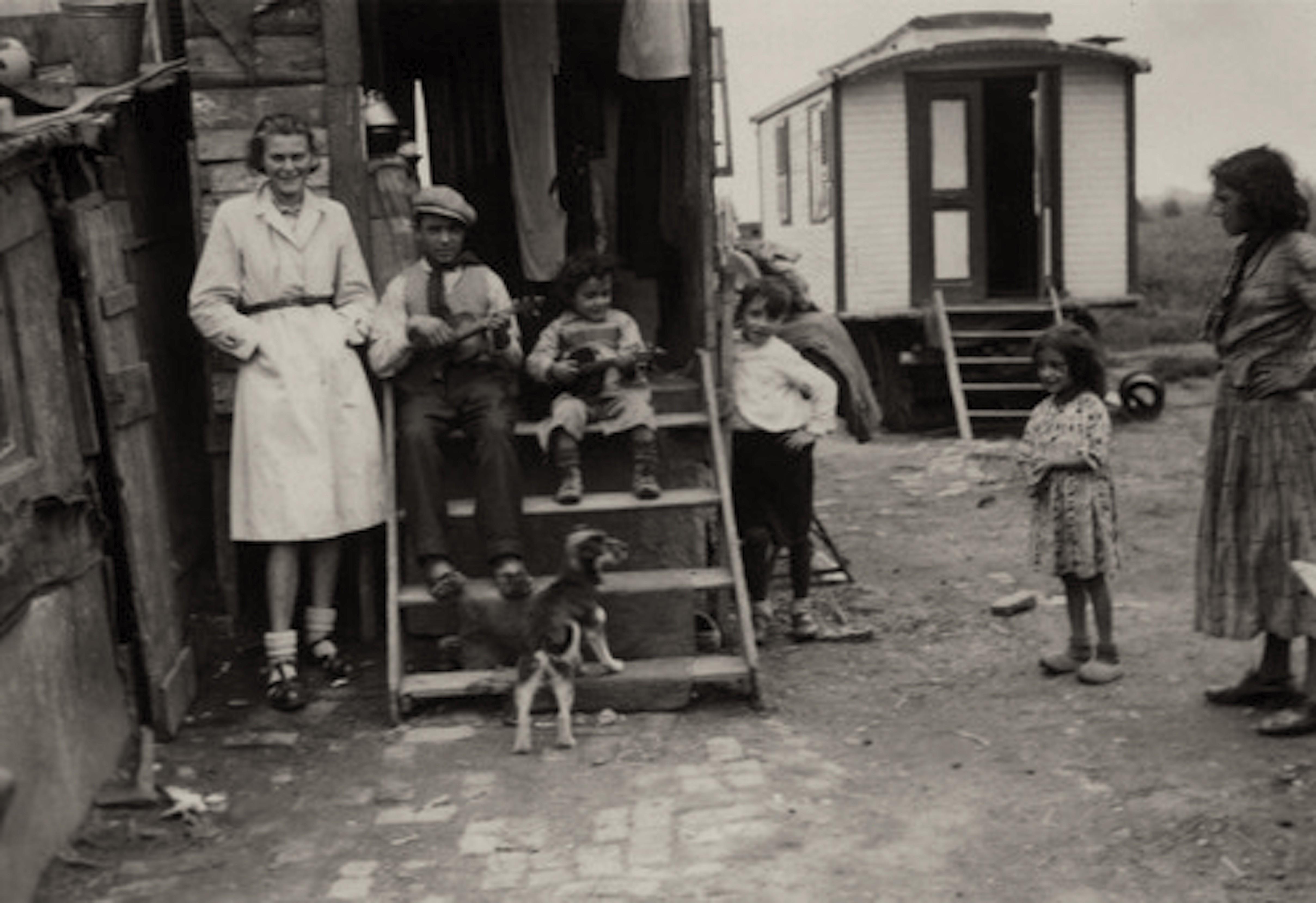 Jan Wies – Zigeuner woonwagens in Haarlemmermeer