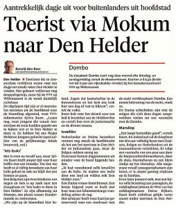 Helders Dagblad, 2 augustus 2017