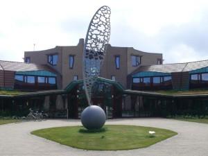 Kunst voor gemeentehuis Texel (foto Texel-Plaza)
