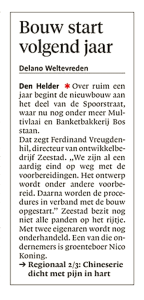 Noordhollands Dagblad, 28 augustus 2017