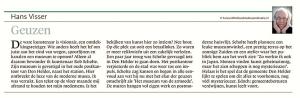 Alkmaarse Courant, 9 september 2017