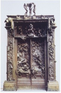 Auguste Rodin - Gates of Hell (cast in bronze by Alexis Rudier, foto Museé Rodin)